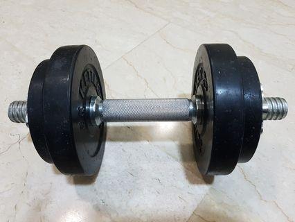 Kettler Cast Iron Dumbbell Set 10kg