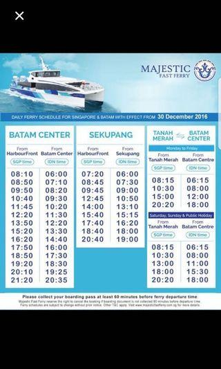 Majestic Ferry - Batam