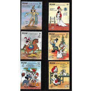 BEQUIA DISNEY MICKEY MNH STAMPS