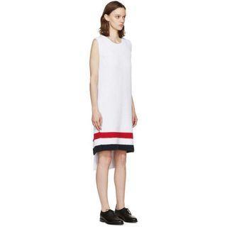 Thom Browne 款 針織連身裙 連衣裙 背心裙 開叉裙 露背裙 長裙 無袖連身裙