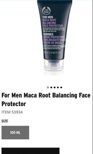 Moisturizer (Maca root balancing face protector for Men)