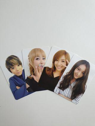 f(x) ELECTRIC SHOCK PHOTOCARDS