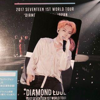 Seventeen Hoshi Diamond Edge in Japan DVD PC