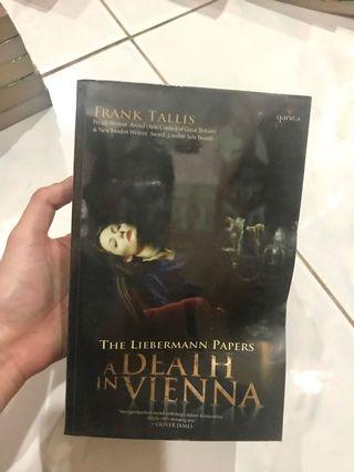 Novel A Death in Vienna by Frank Tallis