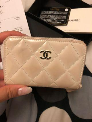 Chanel coins bag wallet
