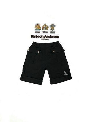 專櫃購得*小金安德森kinloch Anderson 前後雙口袋 反折褲管小小紳士男童短褲/五分褲(85)