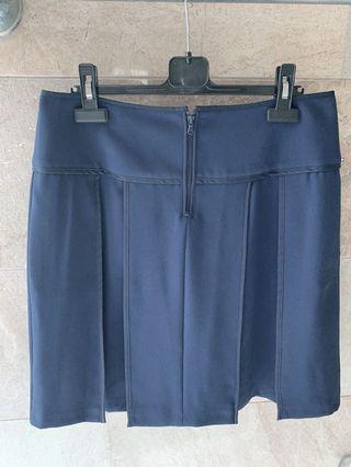 Sportmax code navy skirt with side pockets 優雅返工裙