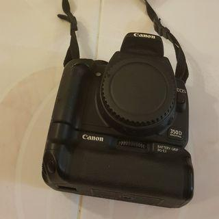 🚚 Canon 350D body battery grip NOT working