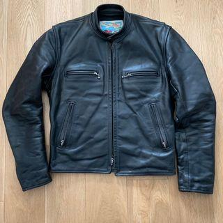 Aero horsehide leather jacket J100