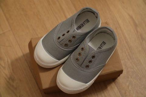 Gray shoes for 3Y boy