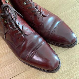 Meermin Shell Cordovan Captoe Boots not Alden
