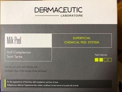 Dermaceutic milk peel