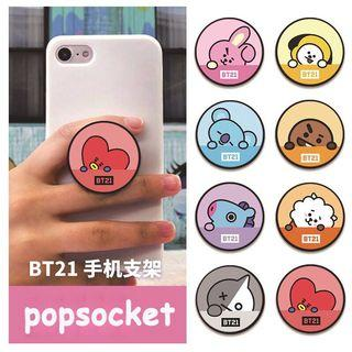 BT21 phone pop socket