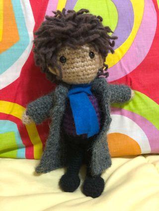 🚚 Crochet Sherlock Doll