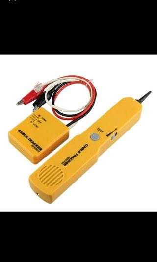 3🔥Network Cable Continuity Tester Telephone Line Cable Tracker and Tester Wire Toner Tracer