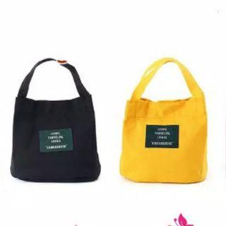 living travelling tote bag / sling bag