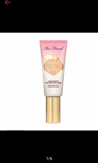 PRIMED & PEACHY Matte Primer Too Paced