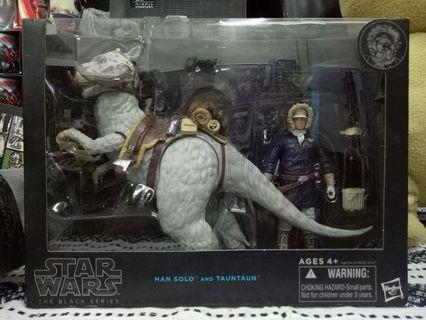 Star Wars Black Series Han Solo & Taun Taun.