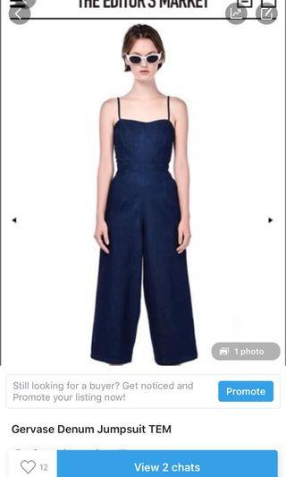 Gervase Denim Jumpsuit