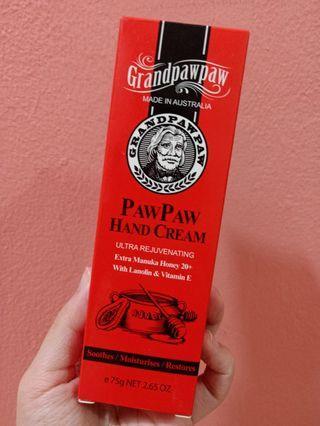 Grand Paw Paw Manuka 20+ Hand Cream 75g (NEW & SEALED)