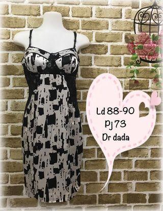 #ramadansale minidress hitam putih