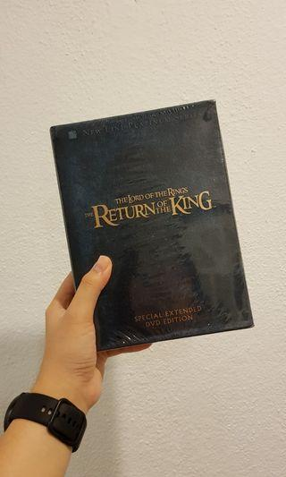 The Lord of The Rings: The Return of The King Special Extended DVD Edition #GayaRaya