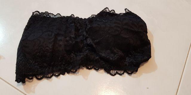 Black Lacy Bralet