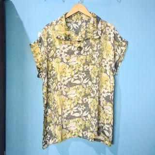 flower blouse HARGA PAS NETT