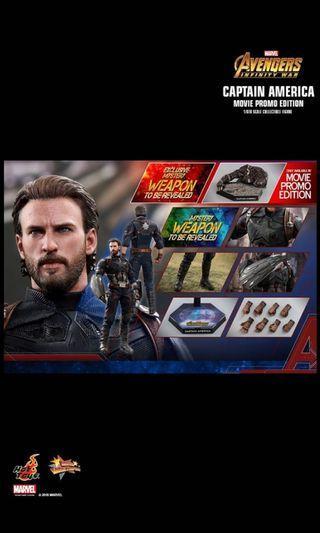全新HOTTOYS HOT TOYS MMS481 復仇者聯盟 Avengers Infinity War 美國隊長 Captain America 特別版