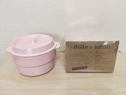 日本製COCOPOT鑄鐵鍋造型微波便當盒