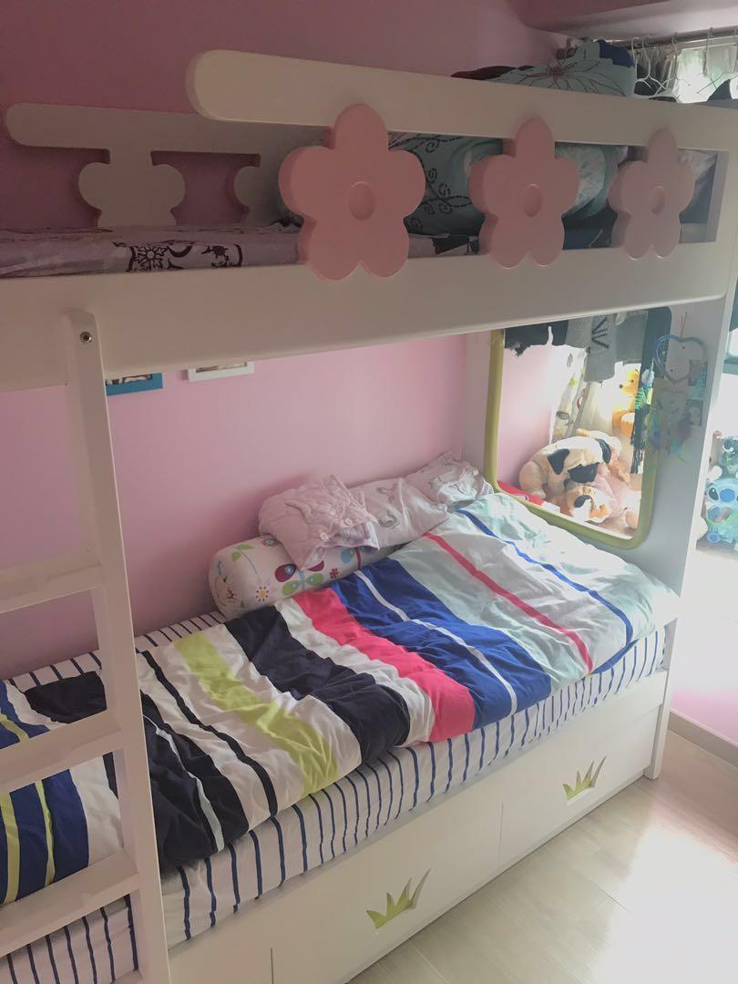 子母床,2尺半雙層床,碌架床。