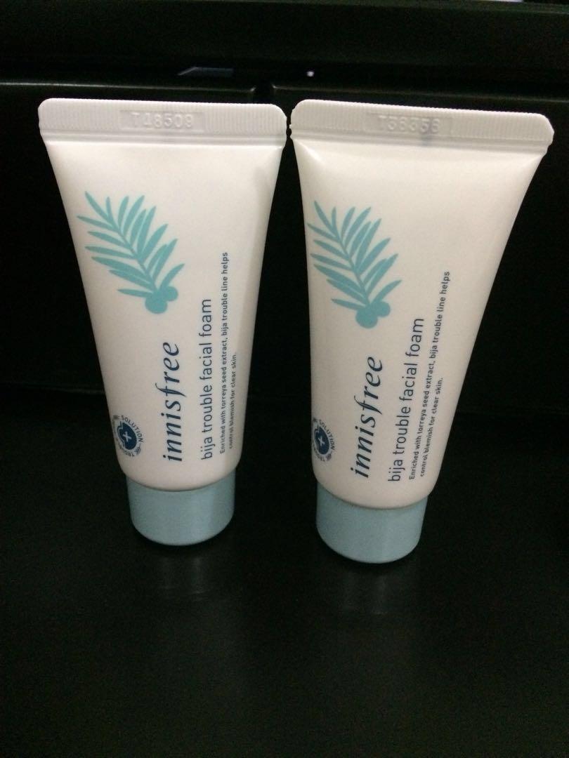 [50k for 2] Innisfree Bija Trouble Facial Foam