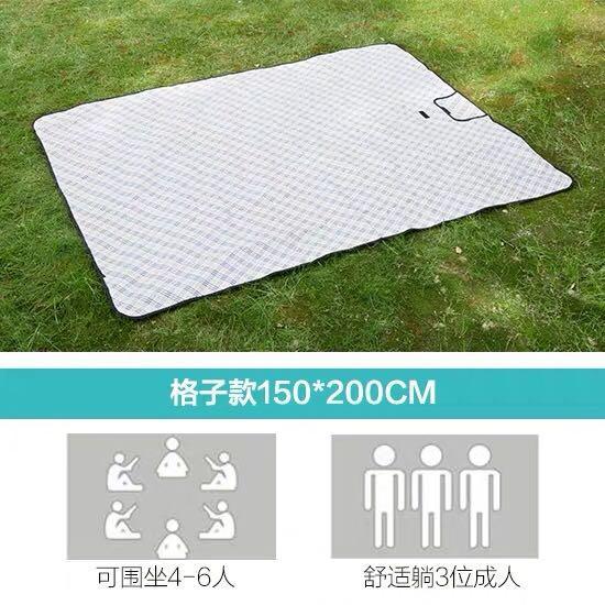 戶外便攜地墊 野餐墊 防潮墊 可折疊墊子