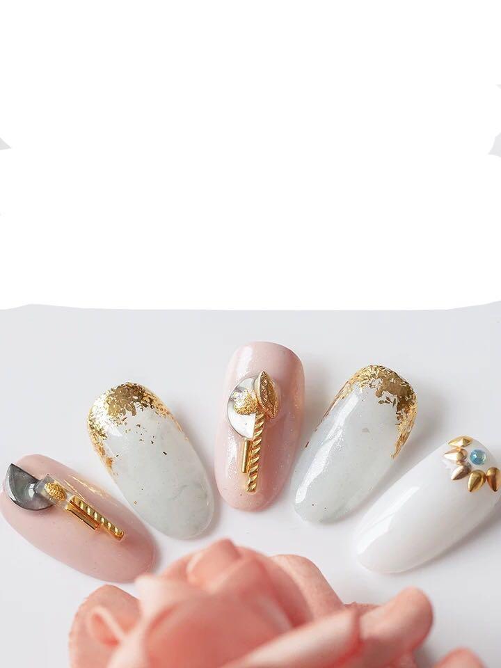 甲片成品 可拆卸重用press on nail
