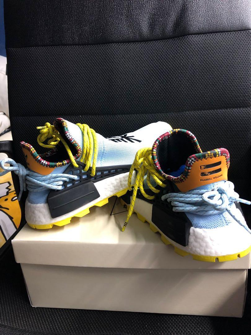 release date: 105e2 69065 Adidas Pharell Williams Human Race Inspirational Pack Sky ...