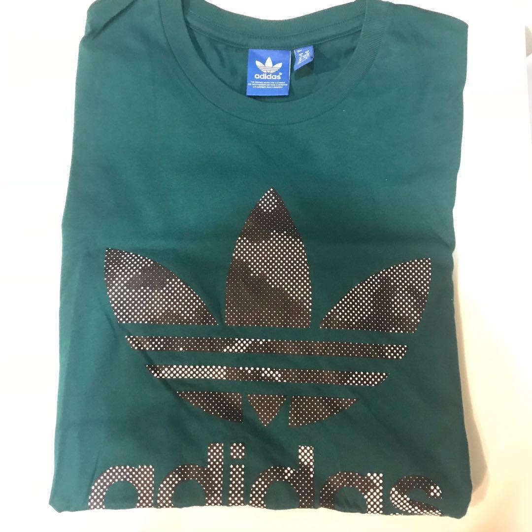 Adidas Originals Linear T Tee Shirt Three Stripe Blue Pink Grey Men/'s  BNWT