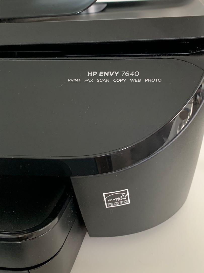 ALL-IN-ONE wireless printer HP envy 7640