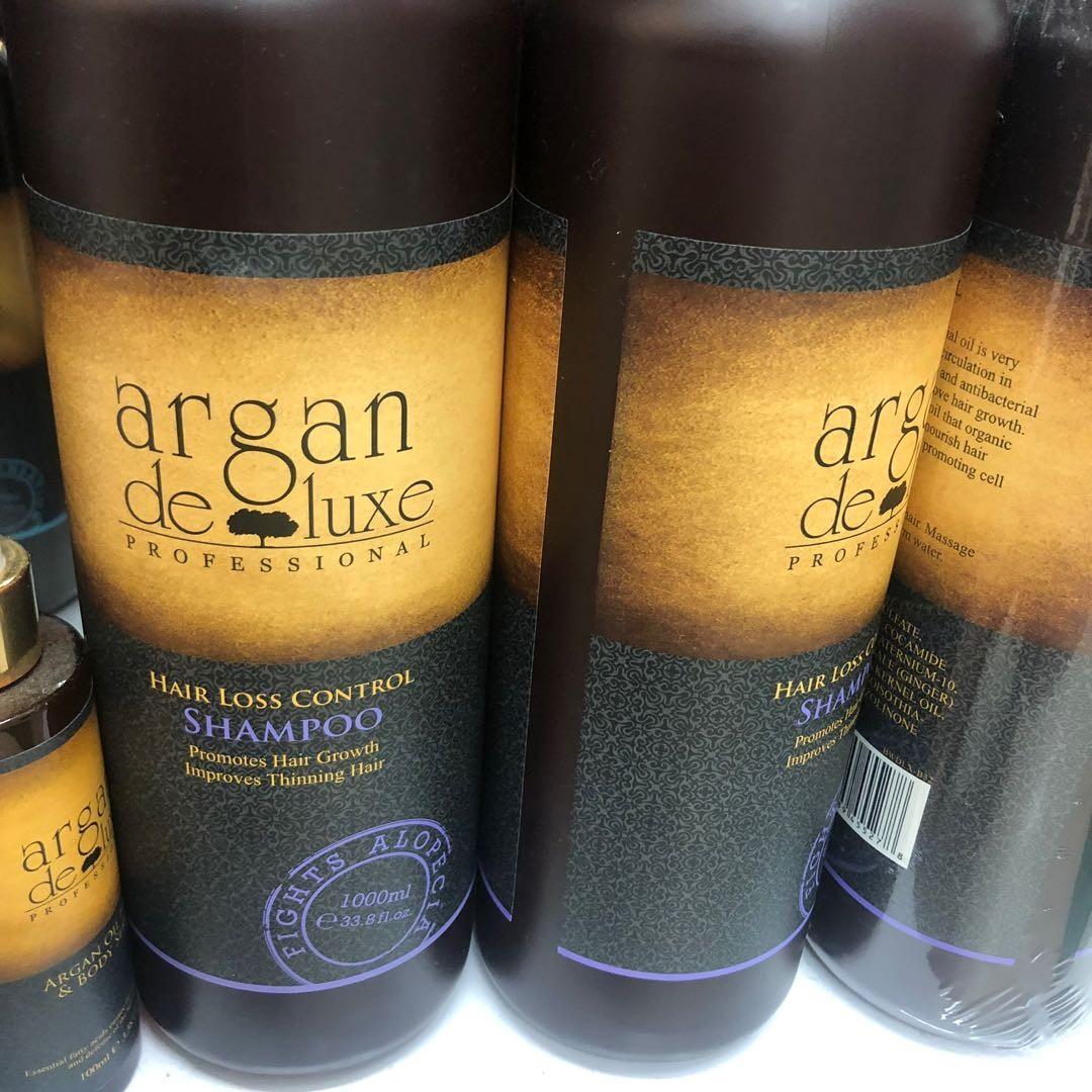 Argan Deluxe Hairloss Control Shampoo 1000ml