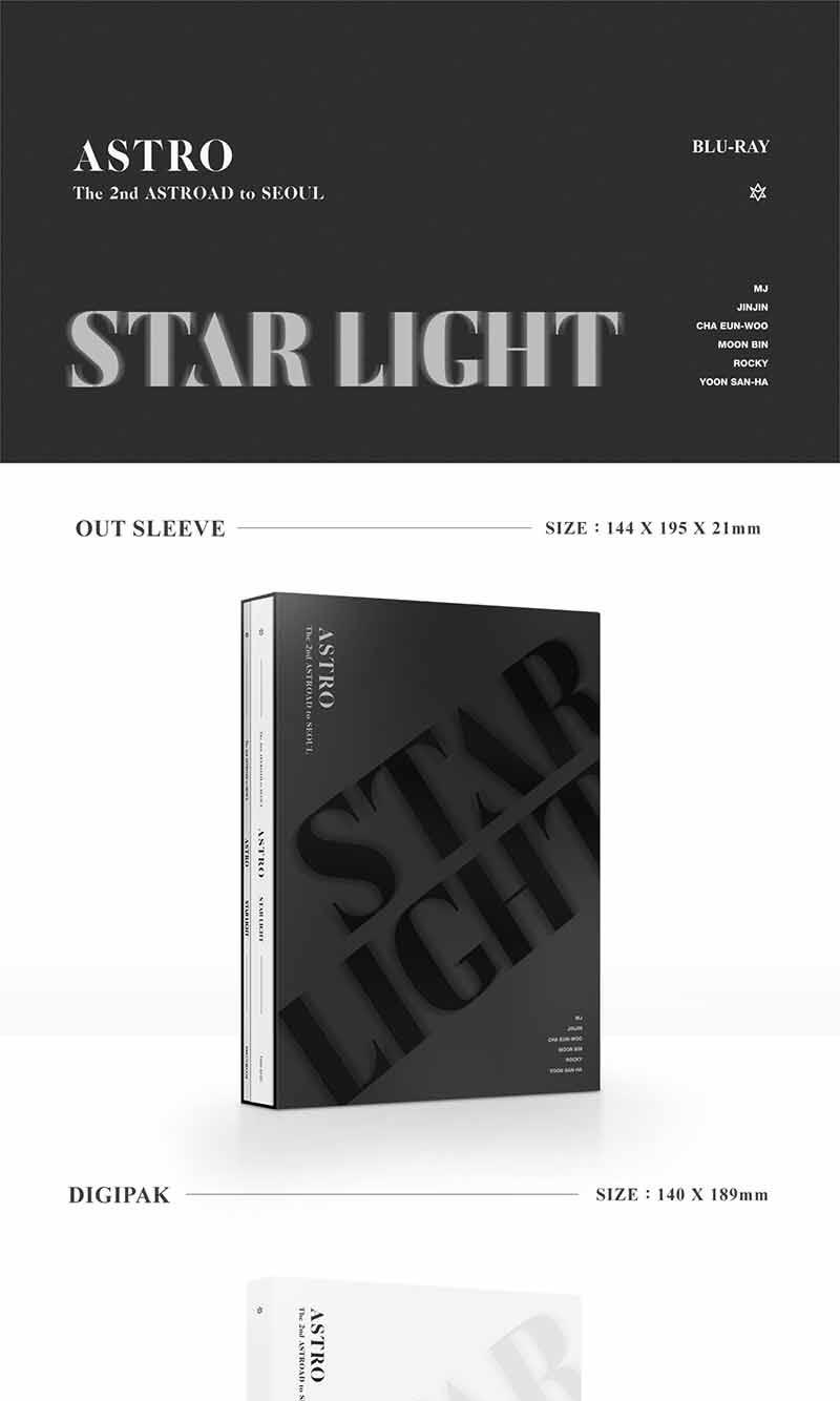 ASTRO - Astro The 2nd Astroad to Seoul (Star Light) Blu-Ray