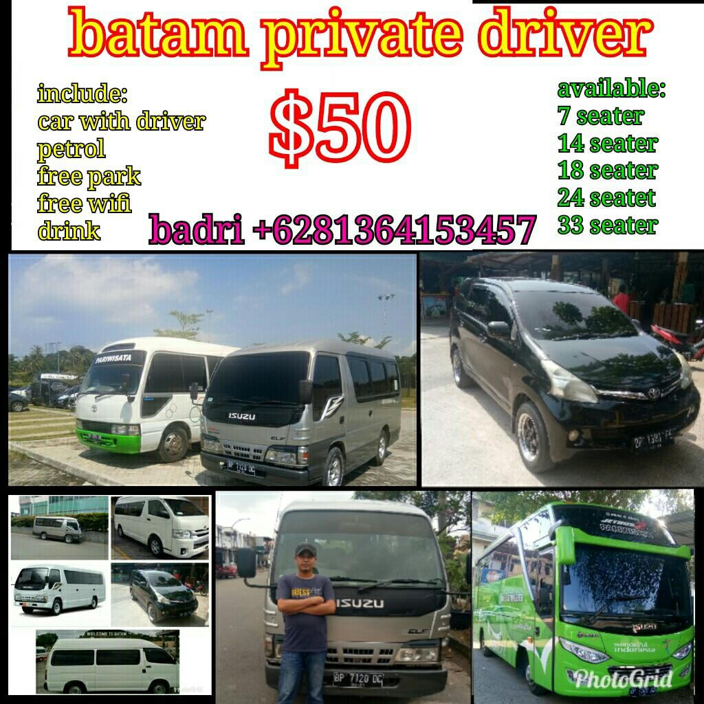 Batam private driver http:// www.wasap.my// +6281364153457