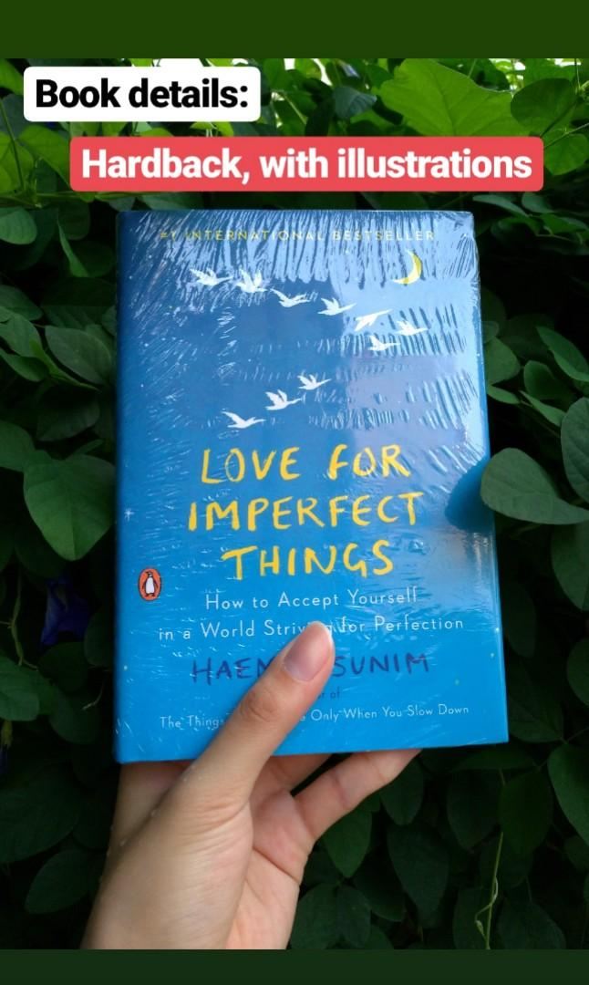 [Bestselling] LOVE FOR IMPERFECT THINGS [New, Ori, Imported]