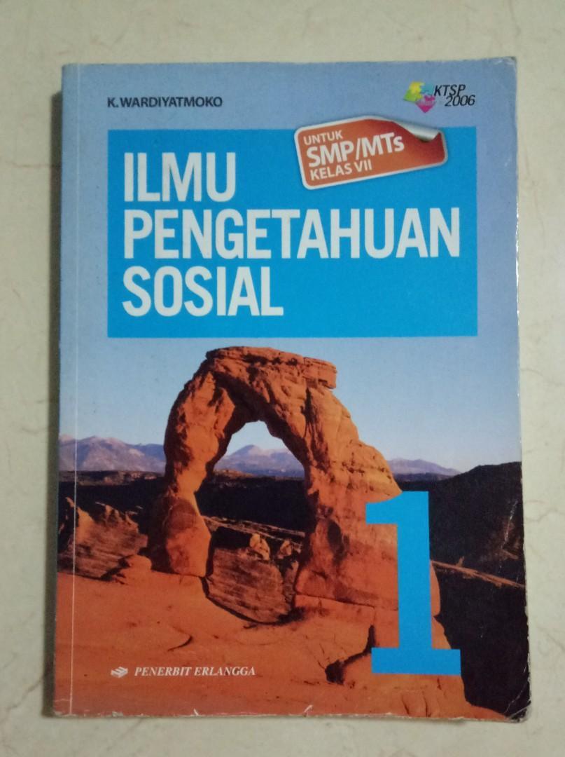 Buku IPS Erlangga KTSP 2006 kelas 7