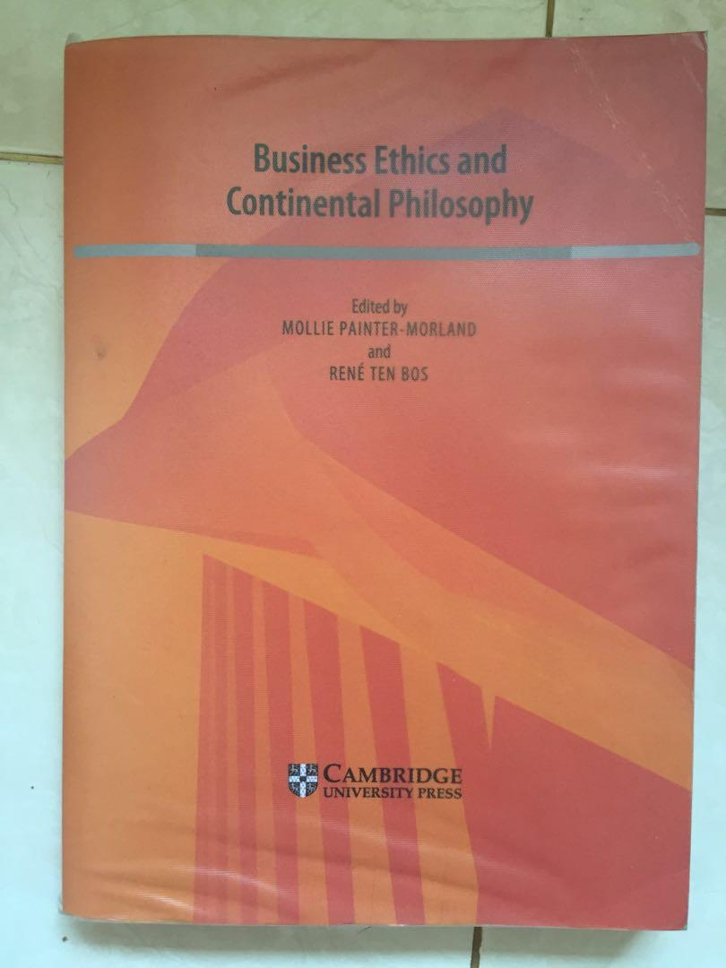 Business Ethics & Continental Philosophy