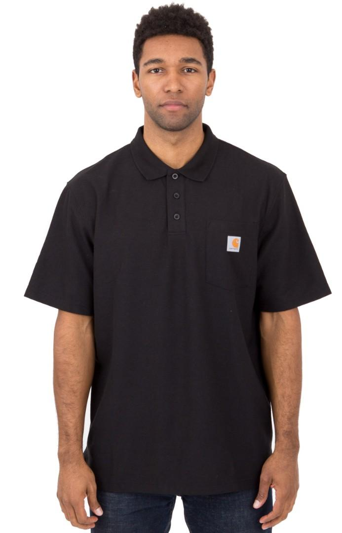 Carhartt Workwear Contractor Polo Tshirt - Black
