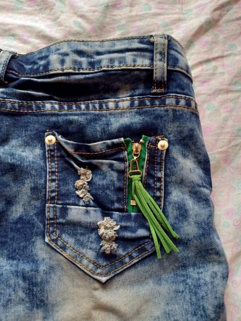 Celana jeans pendek baru