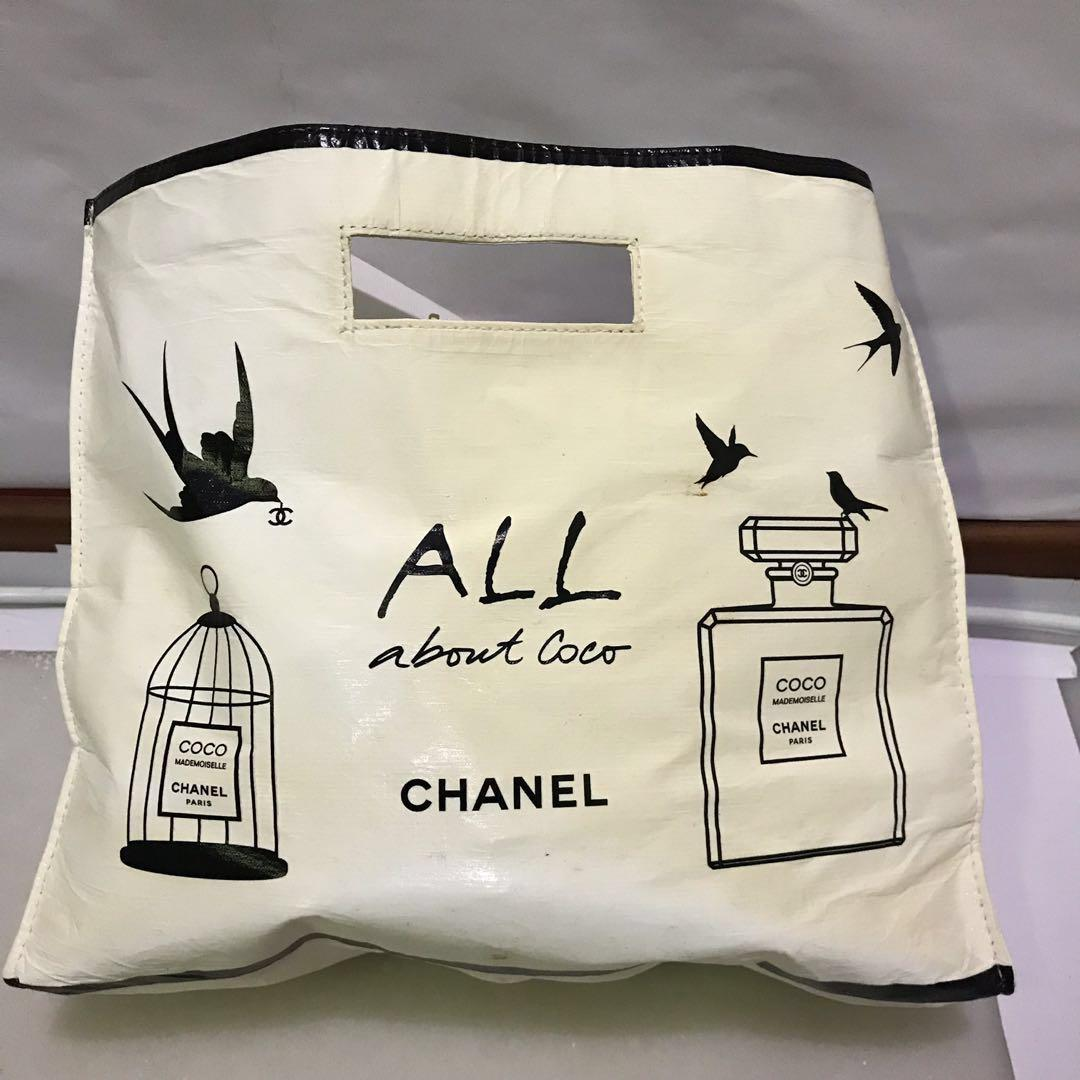 Chanel Beaute Limited Edition Free gift bag clutch perfume