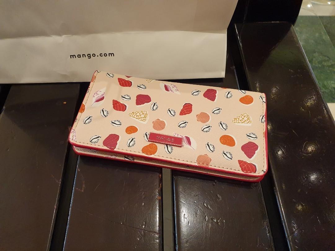 Dompet Wanita Mango Original Pink
