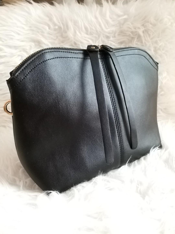 En-ji by Palomino Clutch and Sling Black Bag Tas Pesta