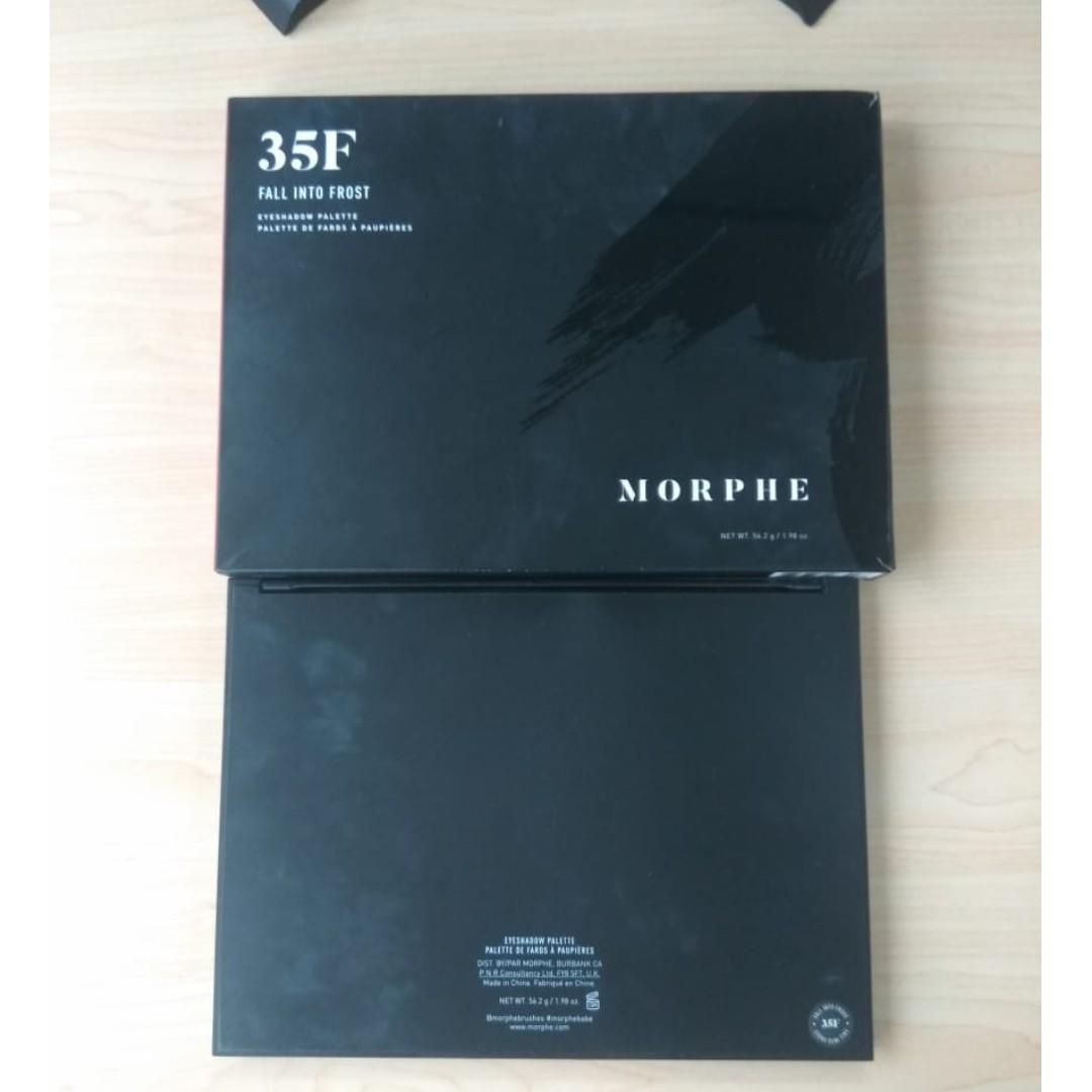 eyeshadow morphe 35f preloved murah