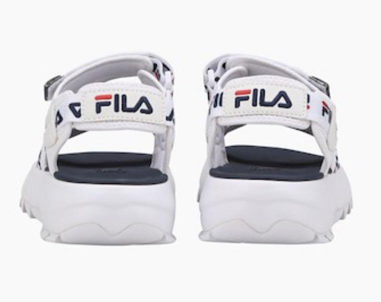 FILA Logo Disruptor II Sandals